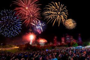 Fireworks by Richard J. Carson